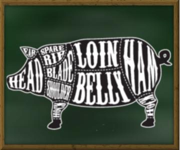 pig pork cuts